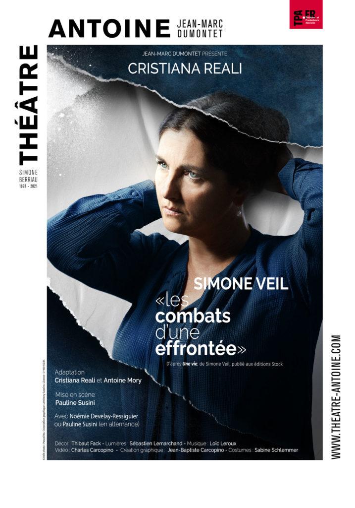 """Simone Veil-""""Les combats d'une effrontée"""" à partir du 18 septembre au Théâtre Antoine à Paris"""